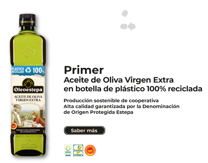 Primer envase 100% reciclado de aceite