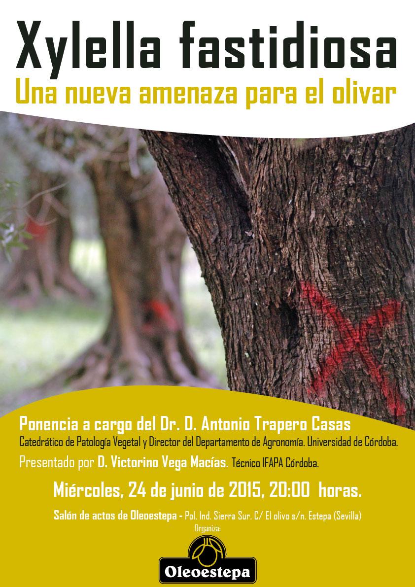 cartel ponencia Xylella fastidiosa 240615 web