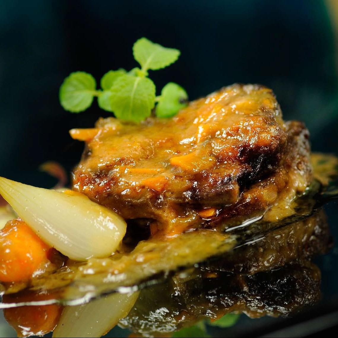 Solomillo de ternera en salsa oleoestepa for Solomillo de ternera