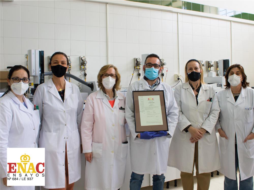 El laboratorio de Oleoestepa primero en lograr la acreditación en el análisis integral del aceite de oliva y aceituna