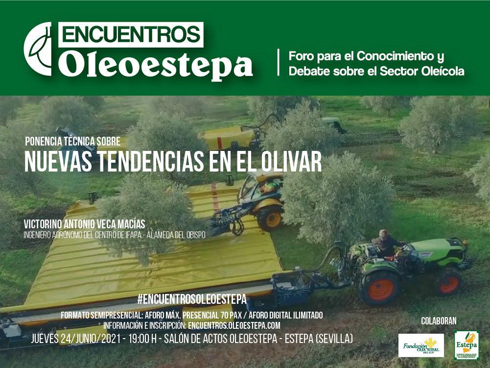 Oleoestepa programa una ponencia técnica para debatir sobre las nuevas tendencias agronómicas en el olivar